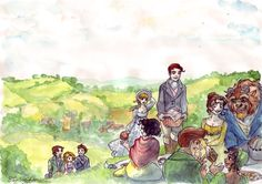I am so pathetic when it comes to anything Disney and anything Austen. The best of both worlds right here!