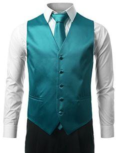 MONDAYSUIT Satin Solid Formal Tuxedo Suit Vest Set Bowtie Tie Hanky TEAL SMALL MONDAYSUIT http://www.amazon.com/dp/B00OGQ50RC/ref=cm_sw_r_pi_dp_Yjywub13CCXTR