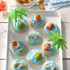 Soft Sugar Cookies Recipe -These soft cookies are always a hit, so I often stir up a big batch. I usually add food coloring to the frosting to coordinate with the current holiday. —Coleen Walter, Bancroft, Michigan