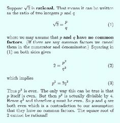 How do I prove that the square root of 3 exists? - Quora
