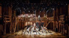 Hamilton. Broadway. Scenic design by David Korins. 2015