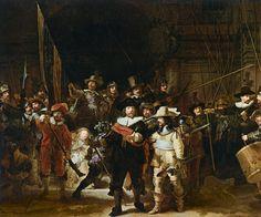 The Nightwatch, embrandt Harmensz. van Rijn, Rijksmuseum Amsterdam - 夜警 - レンブラント・ファン・ライン - アムステルダム国立美術館