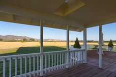 Plan 257 - The Windsor Place. Gorgeous view from the back porch! http://www.dongardner.com/plan_details.aspx?pid=192. #Back #Porch #Outdoor