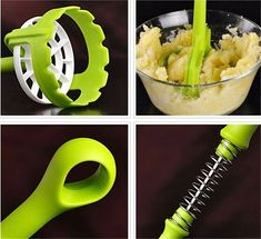 Potato Press Tool - Modern Potato Masher – Go Go Kitchen Gadget