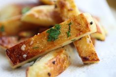 Garlic Fries Recipe with Nutrition Facts!