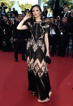 "Georgina Chapman Photos: ""The Little Prince"" Premiere - The 68th Annual Cannes Film Festival"