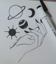 Картинки для срисовки карандашом - легкие, красивые, классные 3