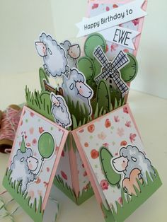 Ewe Are The Best - MFT.  Card by Nicky Noo Cards #nickynoocards and  https://www.facebook.com/nickynoocards/