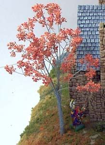 Making an autumn tree tutorial, by Bruce Hirst.