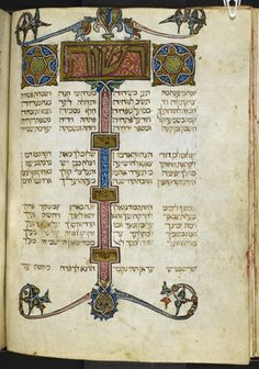 Add MS 27210 f. 56v - The Golden Haggadah; Spain; 2nd qtr 14th cent.