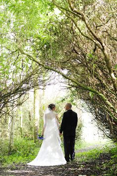 Stephanie and Donny in the gardens on Gregans Castle Destination Wedding, Wedding Venues, Wedding Ideas, Water Lilies, Wedding Coordinator, Ireland, Castle, Gardens, Weddings