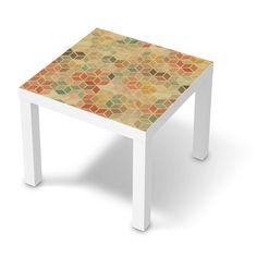 Der Lack Tisch von IKEA im Retro-Style!  #retro #classics #lack #ikeahack #ikea #3Dretro Retro Style, Design, Furniture, Home Decor, Products, Madness, Ikea Lack, Red Turquoise, Personal Style