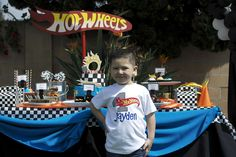 Hot Wheels Birthday Party Ideas | Photo 1 of 28 | Catch My Party