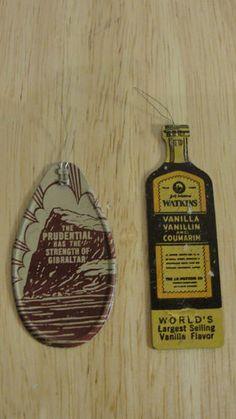 Antique Vintage J R Watkins Vanilla Advertising Tin Litho Needle Threader
