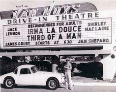 The Van Nuys Drive-In Theatre Marquee