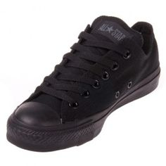 954d9daa6c93 The Converse Chuck Taylor All Star Black Monochrome Low Top in classic black  brings style to