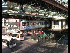 Monorail Suspension Railway  • Wuppertal, Germany