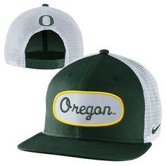 Nike Oregon Ducks True Fan Adjustable Trucker Hat - Green
