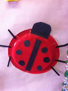 Lady bugs craft= make this the friendship bugs