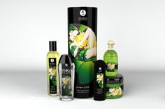 Shunga Garden of Edo Oraganic Collection - Dedicated to those who are passionate about lovemaking and nature. All Garden of Edo products contain carefully selected certified organic ingredients:    Exotic Green Tea Massage Oil 8oz.    Exotic Green Tea Aphodisiac Oil 3.5oz.    TOKO Organica Lubricant 5.5oz.    Lotus Noir Enhancing Gel for her & him 2oz.    Lotus Flower Erotic Bath Salt from the dead sea 14oz