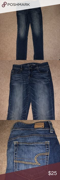 ‼️‼️🙀AMERICAN EAGLE STRETCH BOOTCUT JEANS! Great condition!OBO American Eagle Outfitters Jeans Boot Cut
