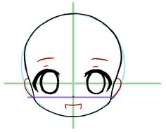 How to draw a chibi head without screwing up terribly and making them look like a demonic octopus crossed with a severely diseased llama. Art Drawings Sketches, Doodle Drawings, Cartoon Drawings, Cute Drawings, Drawing Heads, Manga Drawing, Chibi Drawing, Anime Chibi, How To Draw Anime Eyes