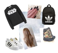 """""""Untitled #33"""" by timcaaa on Polyvore featuring Tee and Cake and adidas Originals"""