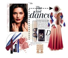 """""""The last dance"""" by razanal999 ❤ liked on Polyvore featuring Anja, Elizabeth and James, RED Valentino, Effy Jewelry, Estée Lauder, Smashbox, Chanel, Thierry Lasry and Giuseppe Zanotti"""