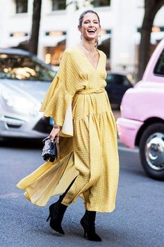 Don't shy away from the color yellow. It's the color of the summer and if you don't think you can pull it off, we've got a guide for the best shade for your skintone!