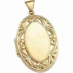 Genuine IceCarats Designer Jewelry Gift 14K Yellow Gold Large Oval Locket. 32.00X22.00 Mm Large Oval Locket In 14K Yellow Gold IceCarats. $422.00. 30 day money back guarantee. Weight 5.51 grams. 32.00X22.00 MM. Genuine IceCarats Designer Jewelry Gift. 14K Yellow Gold. Save 74% Off!
