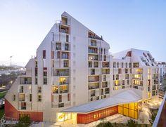 programme mixte-architecte logements accession-logements sociaux-batiment BBC Effinergie-24