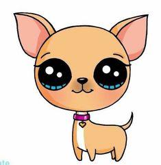 Image de dessin facile comment dessiner des kawaii copier un dessin joli chien adorable image