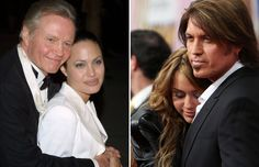 Celebs With Their Dads