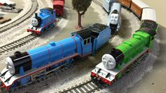 World's Strongest Locomotive -Thomas & Friends Trains Gordon, Spencer, H...