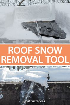 Roof Snow Removal Tool In 2020 Snow Removal Removal Tool Roof