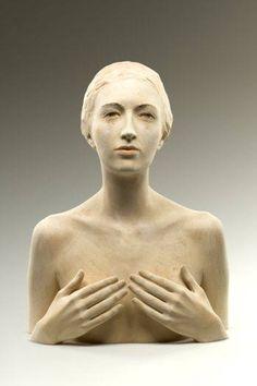 scultura in legno di Bruno Walpoth