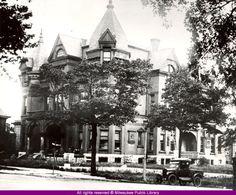 Val Blatz, Sr. Residence close. The Blatz Mansion in Milwaukee