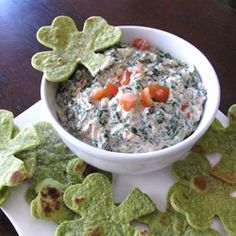 """Easy Spinach Dip 