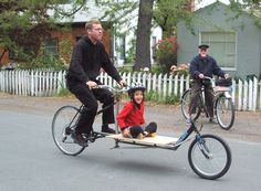 new bike made from old bikes by little green, via Flickr