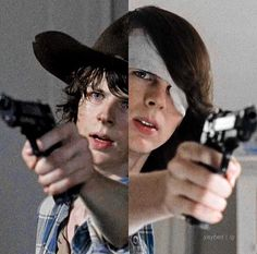 Carl grimes in season 5 and 6