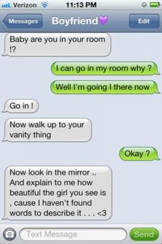 I would love to see this kind of text. I would love to see this kind of text. Cute Relationship Texts, Cute Relationship Goals, Cute Relationships, Couple Relationship, Distance Relationships, Perfect Boyfriend Texts, Boyfriend Quotes, Boyfriend Messages, Funny Boyfriend Texts