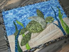 Great little gift idea and a wonderful way to practice doing landscape quilts, raw edge applique, thread sketching, etc!