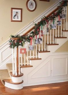 How to display your Christmas Cards...