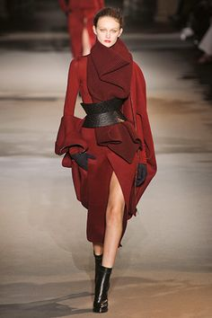 Haider Ackermann. A beautiful red coat! TFS.