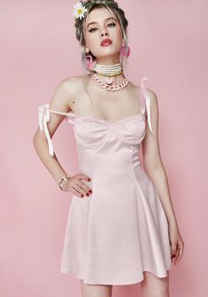 Free, fast shipping on Sugar Thrillz Satin Dress at Dolls Kill, an online boutique for kawaii fashion. Shop Sugar Thrillz clothing, shoes, & accessories here.