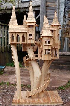 Сказочные домики из дерева Роба Херда - Ярмарка Мастеров - ручная работа, handmade