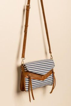 Kayla Striped Crossbody