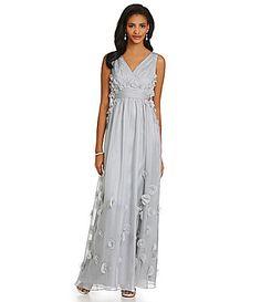 5ec54e40325 JS Collections Fleurette Mermaid Gown  Dillards Mermaid Gown