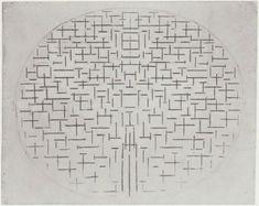 wowgreat: 'Pier and Ocean' by Piet Mondrian. (via Unurthed)