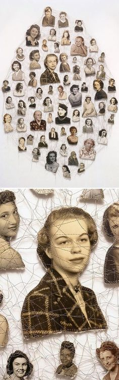 Found images + thread = awesome The Jealous Curator » Blog Archive » i'm jealous of lisa kokin
